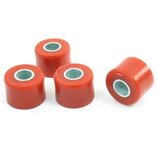 Unique Bargains Red Plastic Shell Shock Absorber Bushings Damper Assembly 4 Pcs For Motorcycle