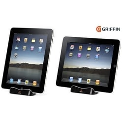 Griffin - WaveStand Viewing Stand for Apple iPad 3, iPad 2, iPad - Black