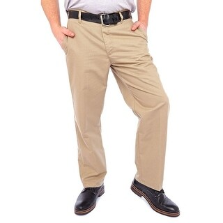Lee Relaxed Fit Zip Fly with Button Khaki Pants Men Regular Khaki