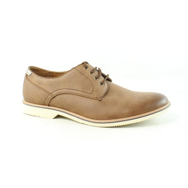 271298ce Shop Steve Madden Mens Newcastle Tan Oxford Dress Shoe Size 9 - Free ...