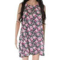 Vans Pink Floral Printed Marie Women's Size Small S Shift Dress