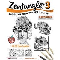 Design Originals Zentangle 3, Expanded Workbook Edition