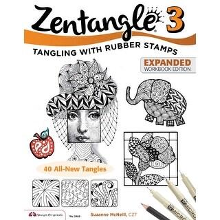 Design Originals Zentangle 3, Expanded Workbook Edition