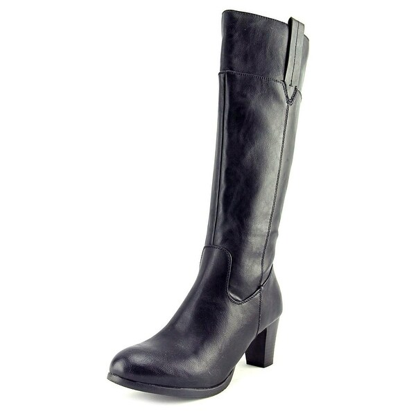 Patrizia By Spring Step Mastaza Round Toe Synthetic Knee High Boot