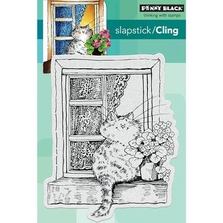 """Penny Black Cling Stamp 5""""X7""""-The Lookout"""