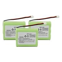 Replacement For AT&T 3300 Cordless Phone Battery (600mAh, 3.6V, Ni-Cd) - 3 Pack