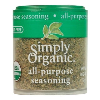 Simply Organic All-Purpose Seasoning ORGANIC, 0.42 oz. Mini Spice