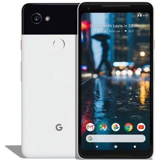 Google Pixel 2 XL 128gb Just Black & White Unlocked