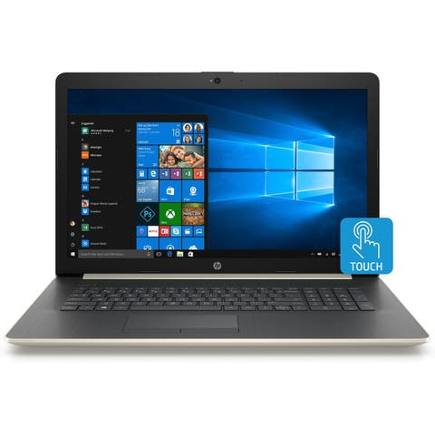HP 17-BY0019C Intel i5 8GB 1TB HDD 17.3 HD+ Touch Laptop (Refurbished)