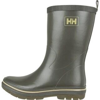 Helly Hansen 2016 Men's Midsund 2 Rain Boots - Forest Night/Taupe Grey - 11280_451 - forest night/taupe grey