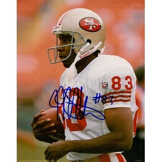 Signed Stokes JJ San Francisco 49ers 8x10 Photo autographed