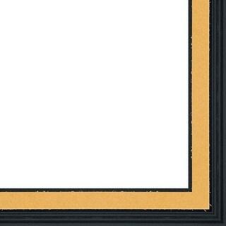 Picture Frame Fillet (Wood) - Fillet Black Finish