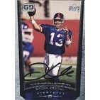 Danny Kanell New York Giants 1998 Upper Deck Game Dated Autographed Card This item comes with a ce