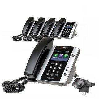 """Polycom VVX 500 (5-Pack) Polycom VVX 500 with USB Video Camera"""