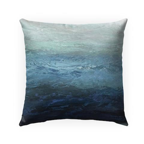 BLUE LAGOON Indoor-Outdoor Pillow By Kavka Designs