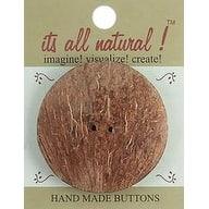 """Round 2-1/4"""" 1/Pkg - Handmade Coconut Button"""