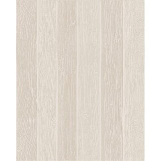 Graham and Brown 33-014 56 Square Foot - Nautical Woodgrain Beige - Non-Pasted Non-Woven Wallpaper