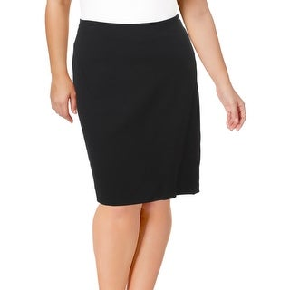 Modamix Womens Pencil Skirt Dressy Knee Length