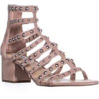 Steve Madden Mania Strappy Block Heel Sandals, Blush Multi - 11 us