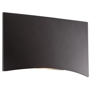 "CSL Lighting SS3005 4.75"" Curved Rectangular LED Step Light from the Architectural Collection"