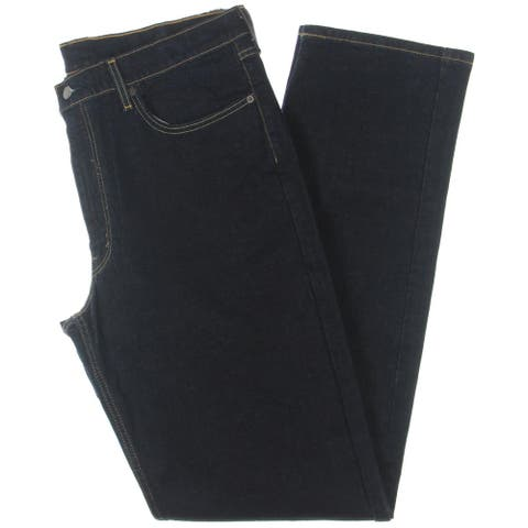 Levi Strauss & Co. Mens Big & Tall 550 Relaxed Jeans Denim Five-Pocket - Navy