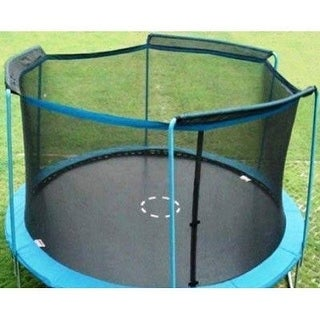 Upper Bounce UBNET-14-3-AST 14 ft. - Framed - Trampoline Enclosure Net Fit For 3 Arches