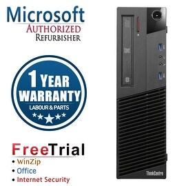 Refurbished Lenovo ThinkCentre M83 SFF Intel Core I5 4570 3.2G 16G DDR3 2TB DVD Win 7 Pro 1 Year Warranty