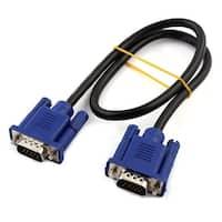 Unique BargainsOffice Desktop Computer Monitor VGA Male to Male Extension Cable 50cm Long