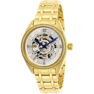 Link to Invicta Women's 26357 'Objet D Art' Automatic Gold-Tone Stainless Steel Watch - White Similar Items in Women's Watches