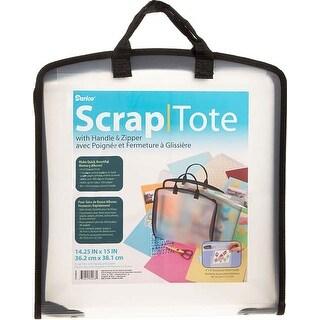 - Plastic Scrap Tote W/Pockets