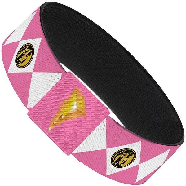 Diamond Pink Ranger Elastic Bracelet