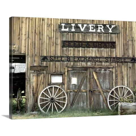 """Livery"" Canvas Wall Art"