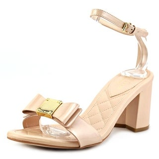 Cole Haan Tali Bow-Embellished High Open Toe Synthetic Sandals