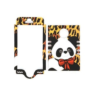 Unlimited Cellular Rocker Snap-On Case for Apple iPhone 5S (Yellow Giraffe with