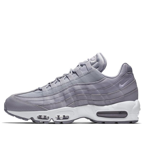sale retailer 7da19 96382 Shop Nike Air Max 95 Essential Wolf Grey (749766-037) Men - Free Shipping  Today - Overstock - 25762432