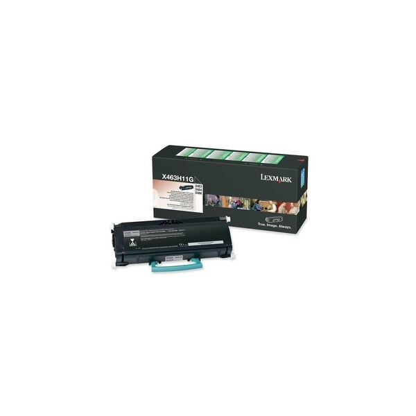 Lexmark X463H11G Lexmark High Yield Return Program Black Toner Cartridge - Black - Laser - 9000 Page - 1 Each