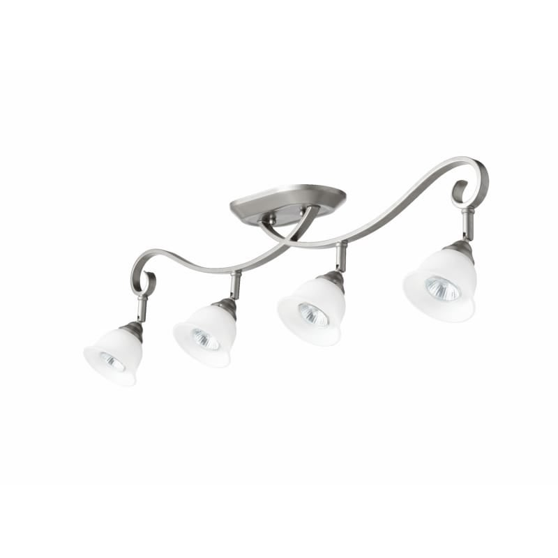 Quorum International 3853-4 Celesta 4 Light Semi-Flush Ceiling Fixture - Thumbnail 0