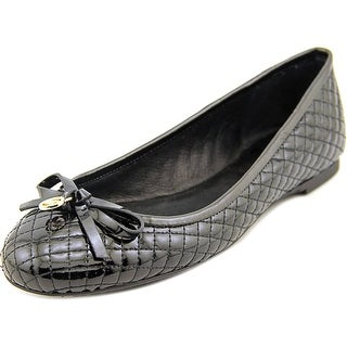 Michael Michael Kors Melody Quilted Ballet Women  Round Toe Black Ballet Flats