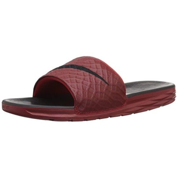 online store 1aaca 294fa Shop Nike Mens Benassi Solarsoft Slide 2 Sandals Black Anthracite Size 12 -  Free Shipping Today - Overstock - 25753851