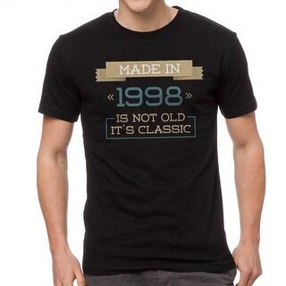 It's Classic Men's Black T-shirt