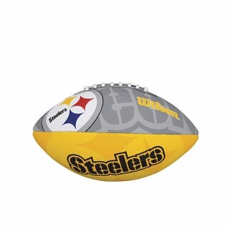 Wilson NFL Team Logo Junior Football, Pittsburgh Steelers
