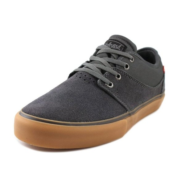 Globe Mahalo Men Round Toe Suede Gray Skate Shoe
