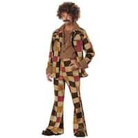 California Costumes Disco Sleazeball Adult Costume - Brown