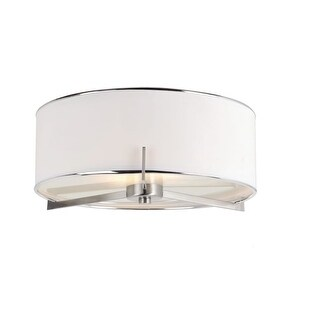 Trans Globe Lighting 1053 2 Light Cadence Flushmount Ceiling Fixture from the Young and Hip Collection