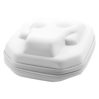 Outdoor Universal Anti-Scratch Zipper Protective Storage Box Camera Case White