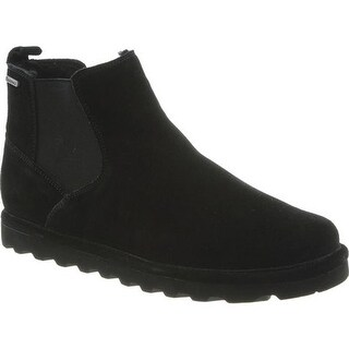 Bearpaw Men's Marcus Chelsea Boot Black II Suede