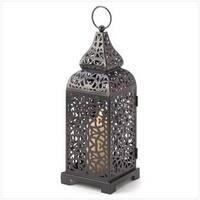 C. Alan 13176 Moroccan Tower Candle Lantern