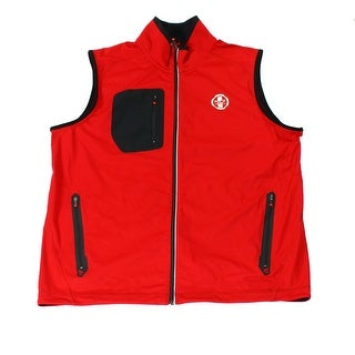 Polo Ralph Lauren NEW Red Mens Size XL Softshell Colorblock Jacket Vest
