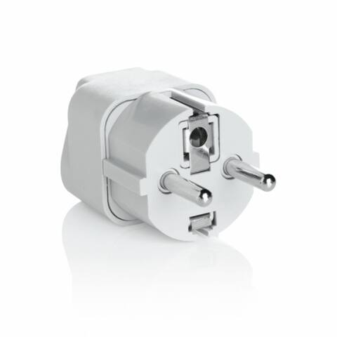 Travel Smart NWG1C Grounded Adapter Plug