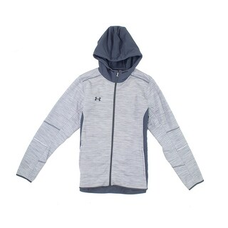 Under Armour NEW Gray Mens Size Large L Full-Zip Woven Athletic Jacket